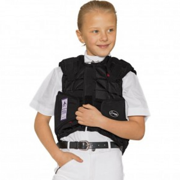 """Жилет защитный""""Flexi Motion""""детский, L-Safety купить в интернет магазине конной амуниции"""